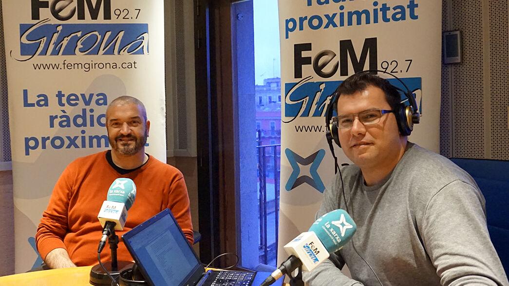 Daniel Castillo y Carles Baldellou
