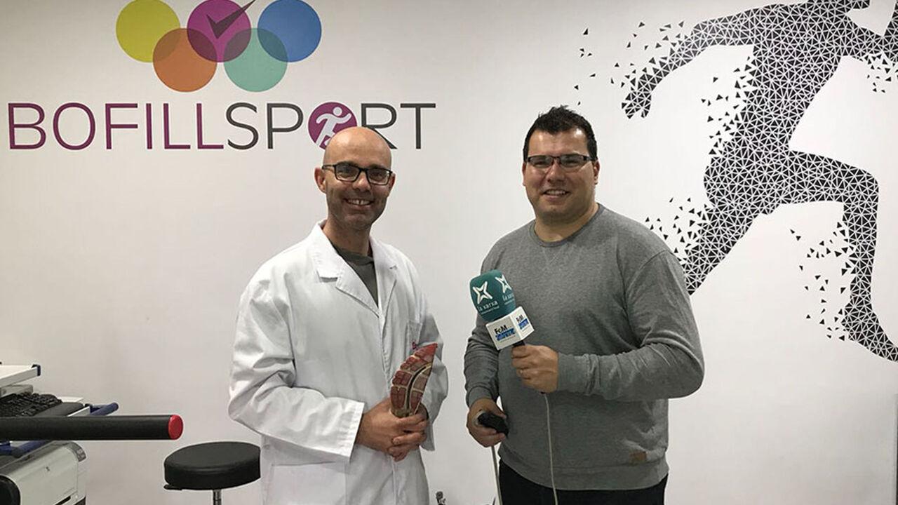 """Joan Figueras, podòleg de Bofillsport i Carles Baldellou, presentador de """"Tot és un joc"""" - Ràdio Fem Girona"""