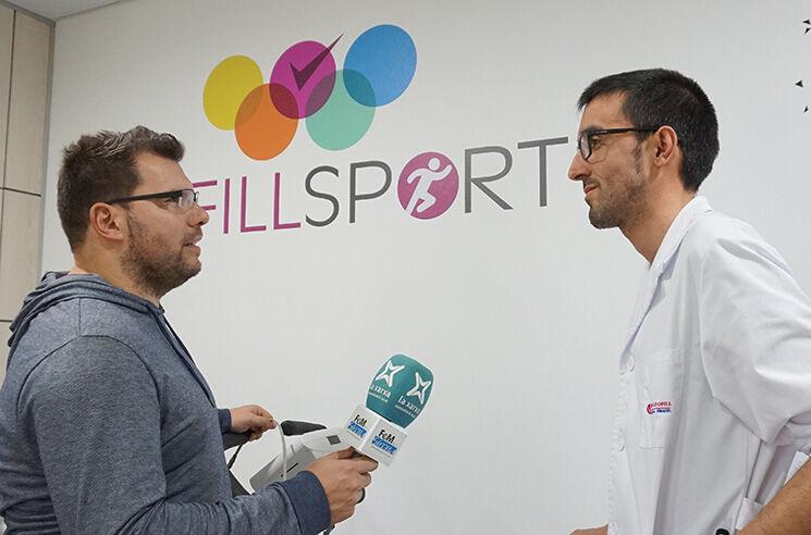 Carles Badellou amb Josep Codinach